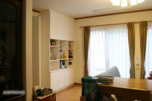 写真や賞状などを飾る壁面収納
