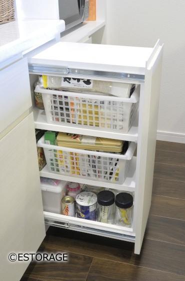 家電を収納できるキッチン収納