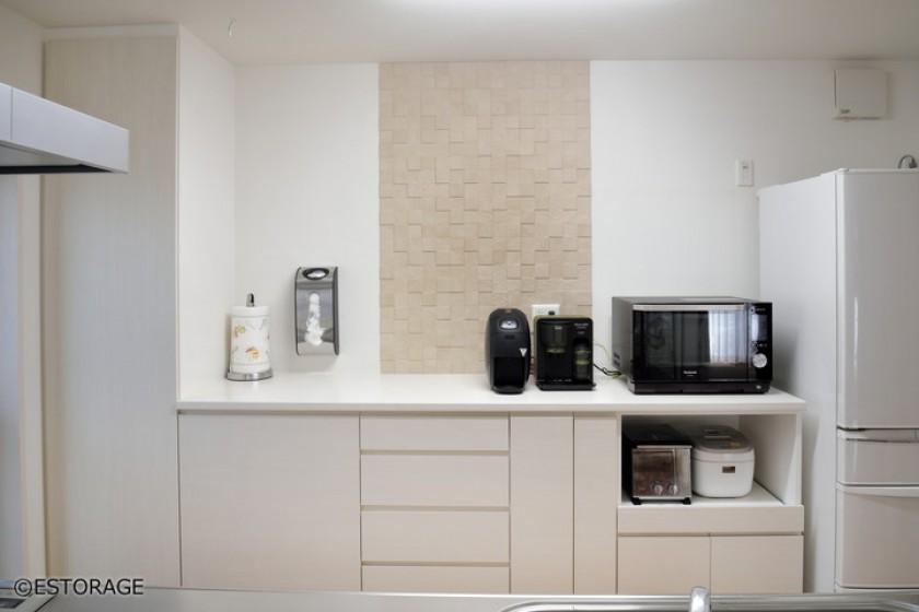 キッチンが楽しくなる多機能なキッチン収納