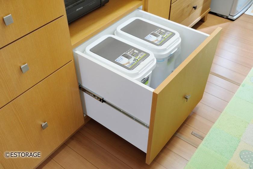 ゴミ箱の収納スペース