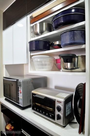 キッチン壁面収納オーダー家具-5