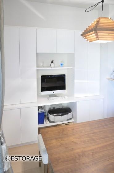理想的なインテリアと収納を実現したオーダー家具