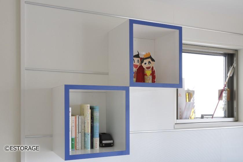 デザイン性重視の壁面収納6