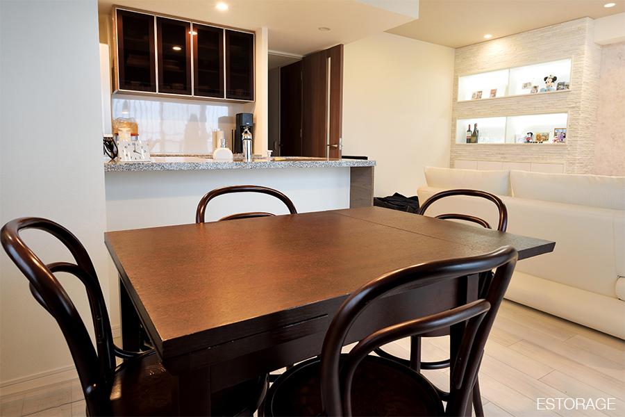 理想の新居を実現したオーダー家具