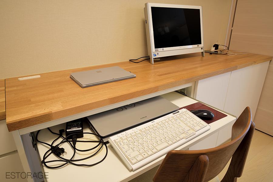 快適なワーキングスペースを実現したオーダー家具