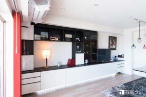 壁面収納、収納ラボ、オーダー家具