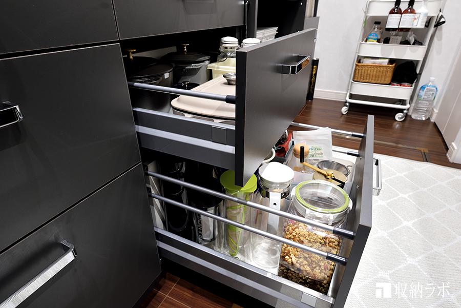 キッチン収納の引き出し収納
