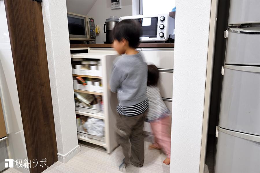 キッチン収納のワゴン