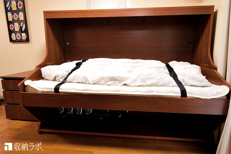 普通にベットとしてして使える収納ベッド