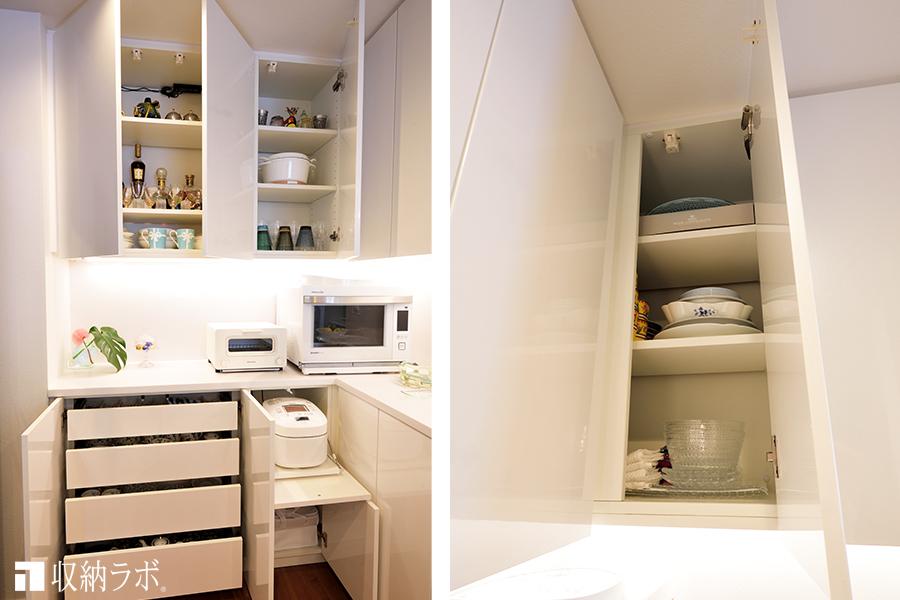 キッチンのスペースを有効活用