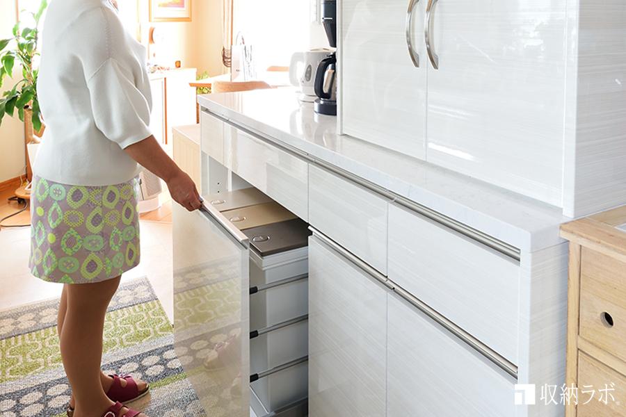 使い勝手が良くなったキッチン