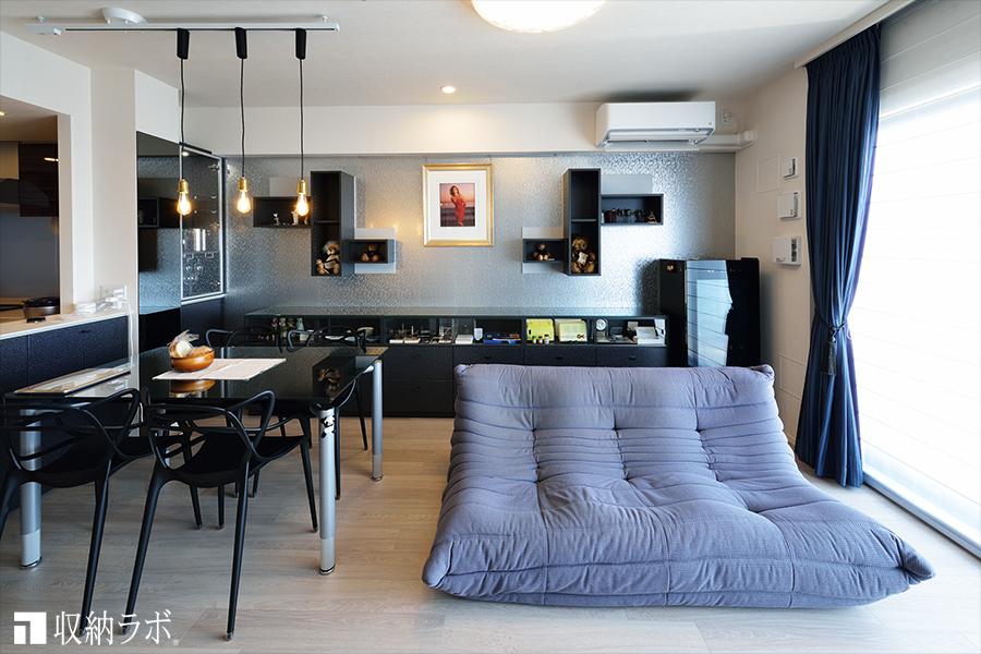 新居の暮らしを始める住まいを特別の空間にしたオーダー家具