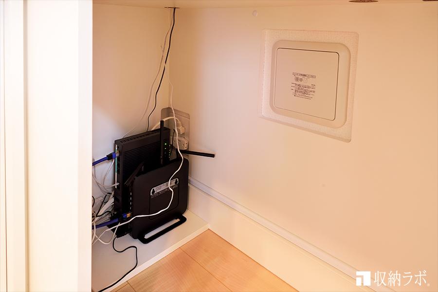 点検口とコンセントを使えるようしたオーダー家具