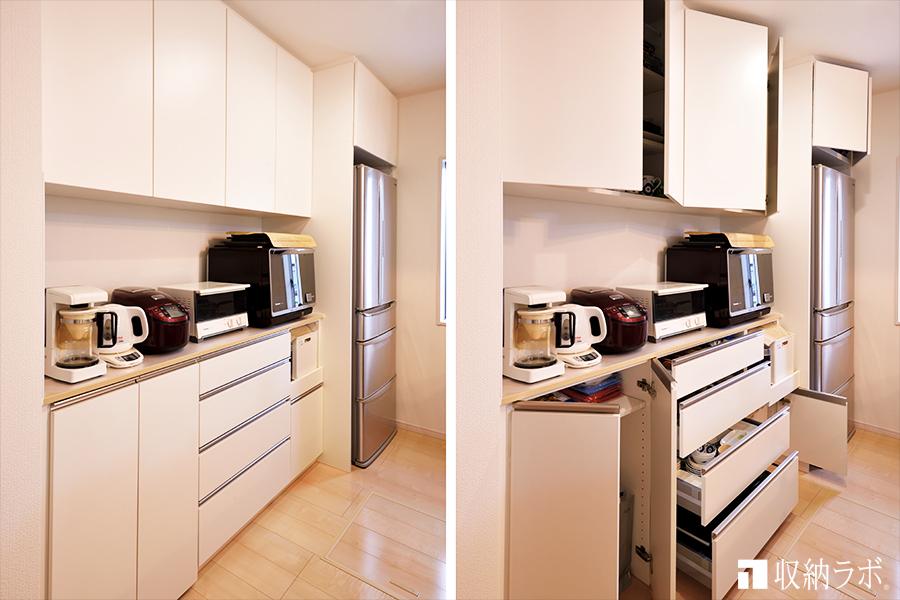 オーダー家具の食器棚