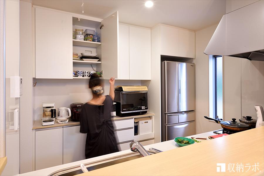 新しい住まいの暮らしを快適にしたオーダー家具。