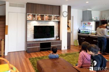 マイホームにおしゃれで、安全な収納を実現したオーダー家具。