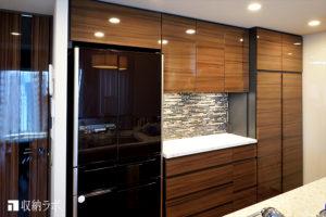 キッチンと書斎に作ったオーダー家具で、快適な収納と安全な住まいを実現。