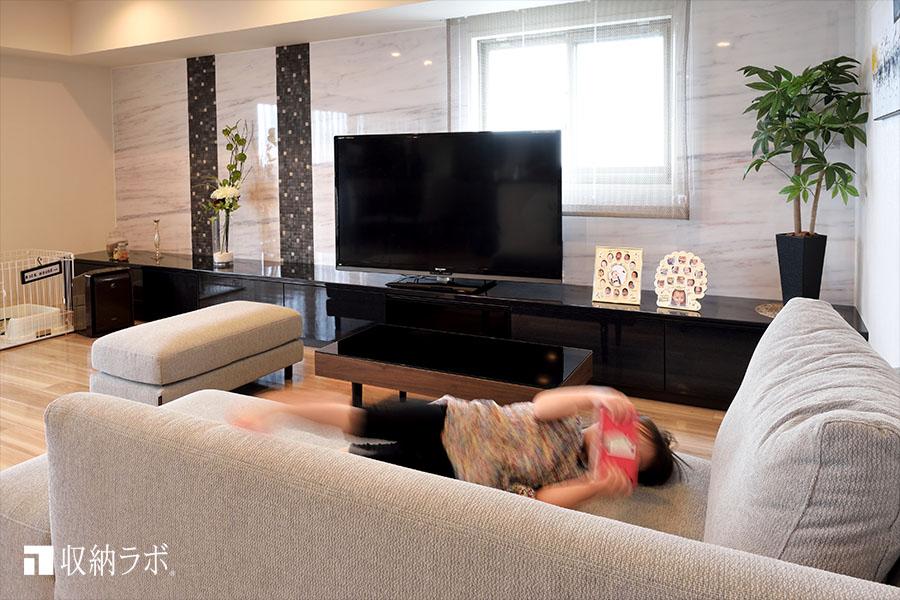 理想的なインテリアと機能的な収納を実現したオーダー家具。