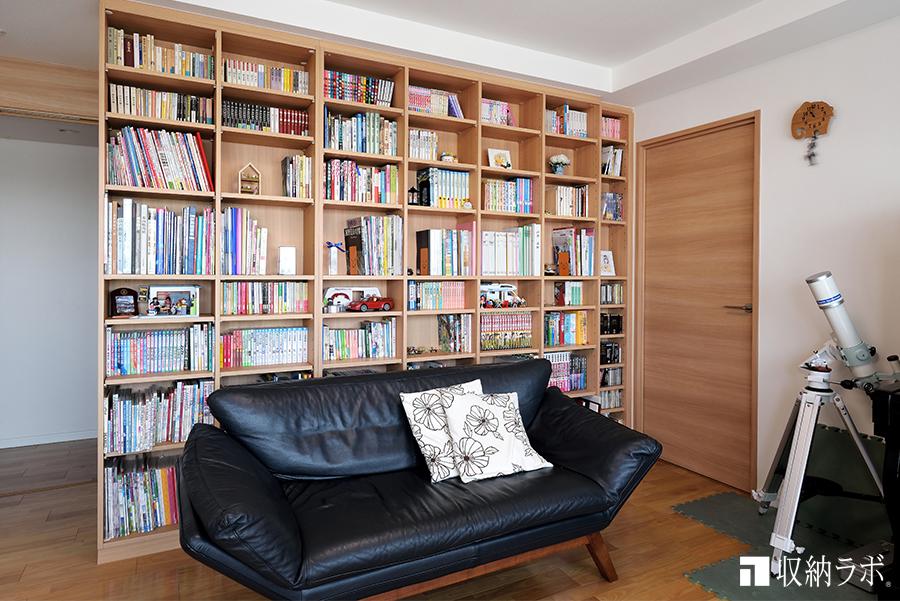 書斎の本棚のイメージ