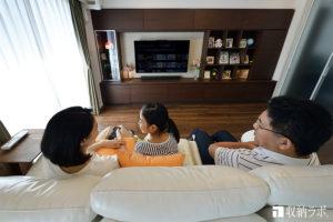 オーダー家具で叶えた、家族がリラックスできる癒しの住まい。