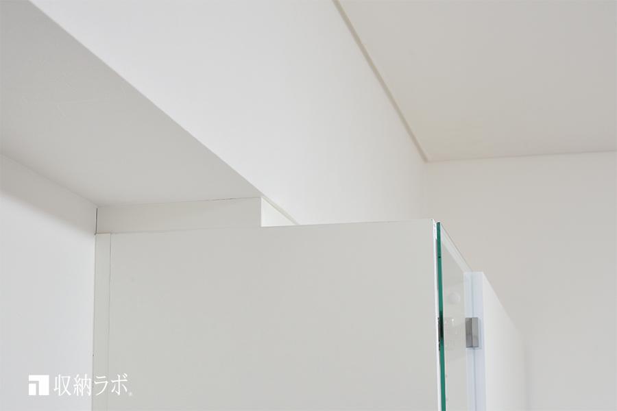 梁の高さに合わせた設計