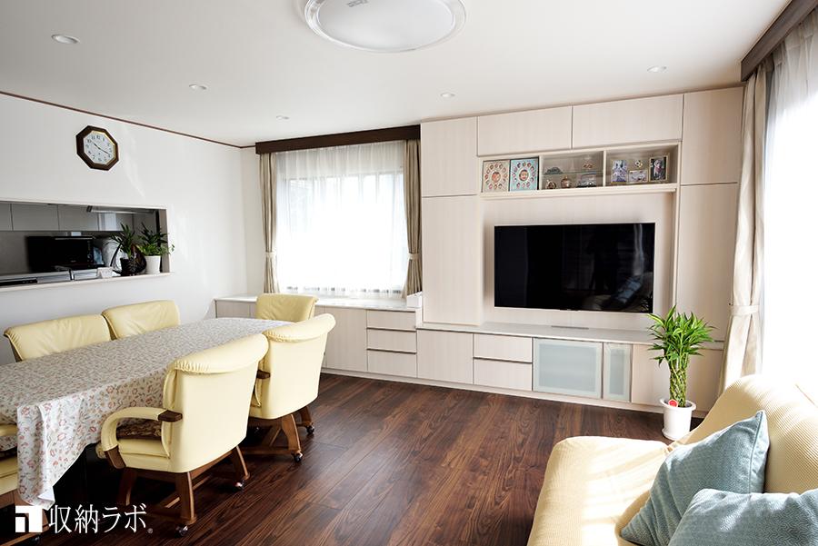 リフォームに合わせて、5つのオーダー家具で住まいの収納を改善