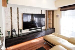 憧れのオーダー家具で、理想のリビングが完成。